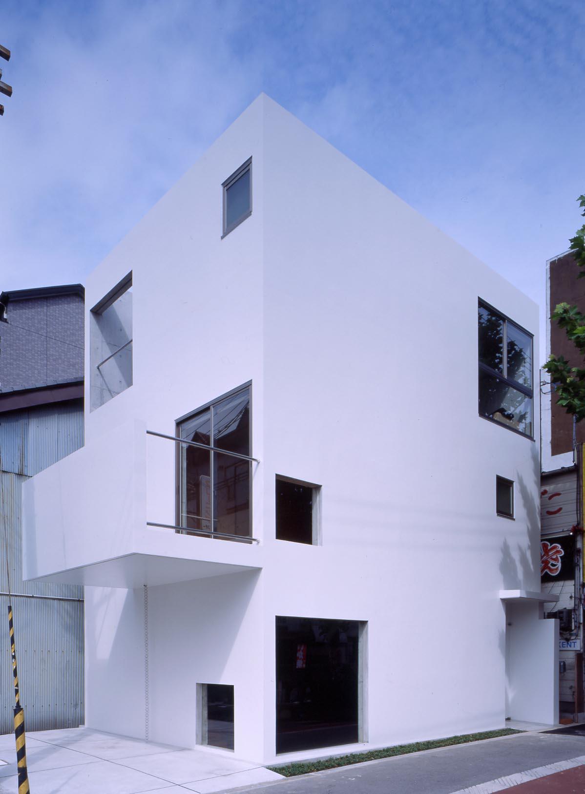 アトリエのある住宅、大阪