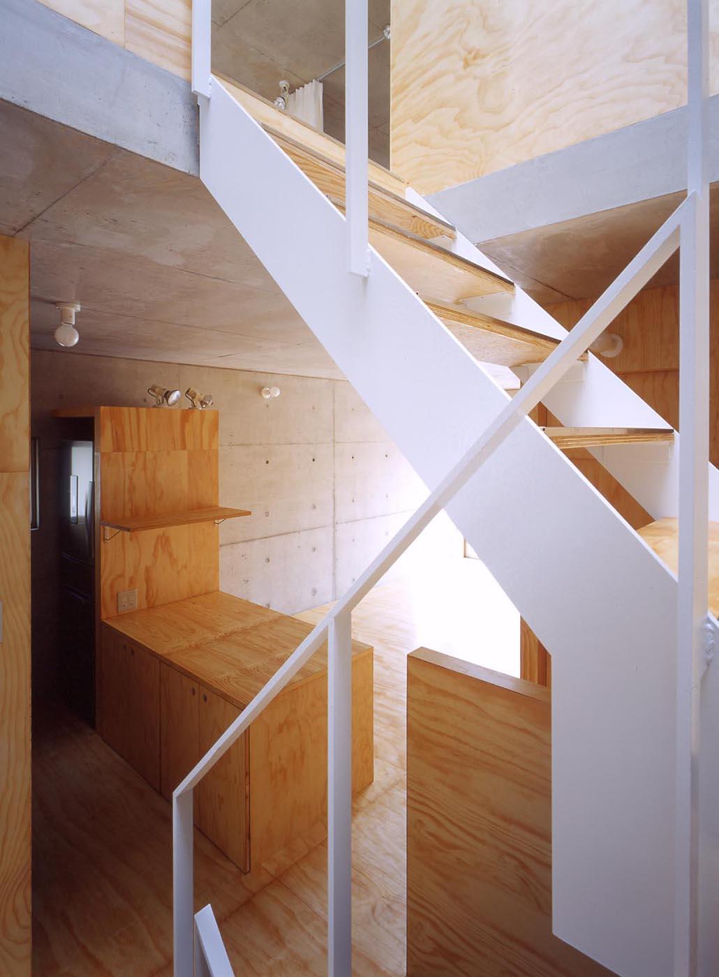 狭小住宅、3階、コンクリート