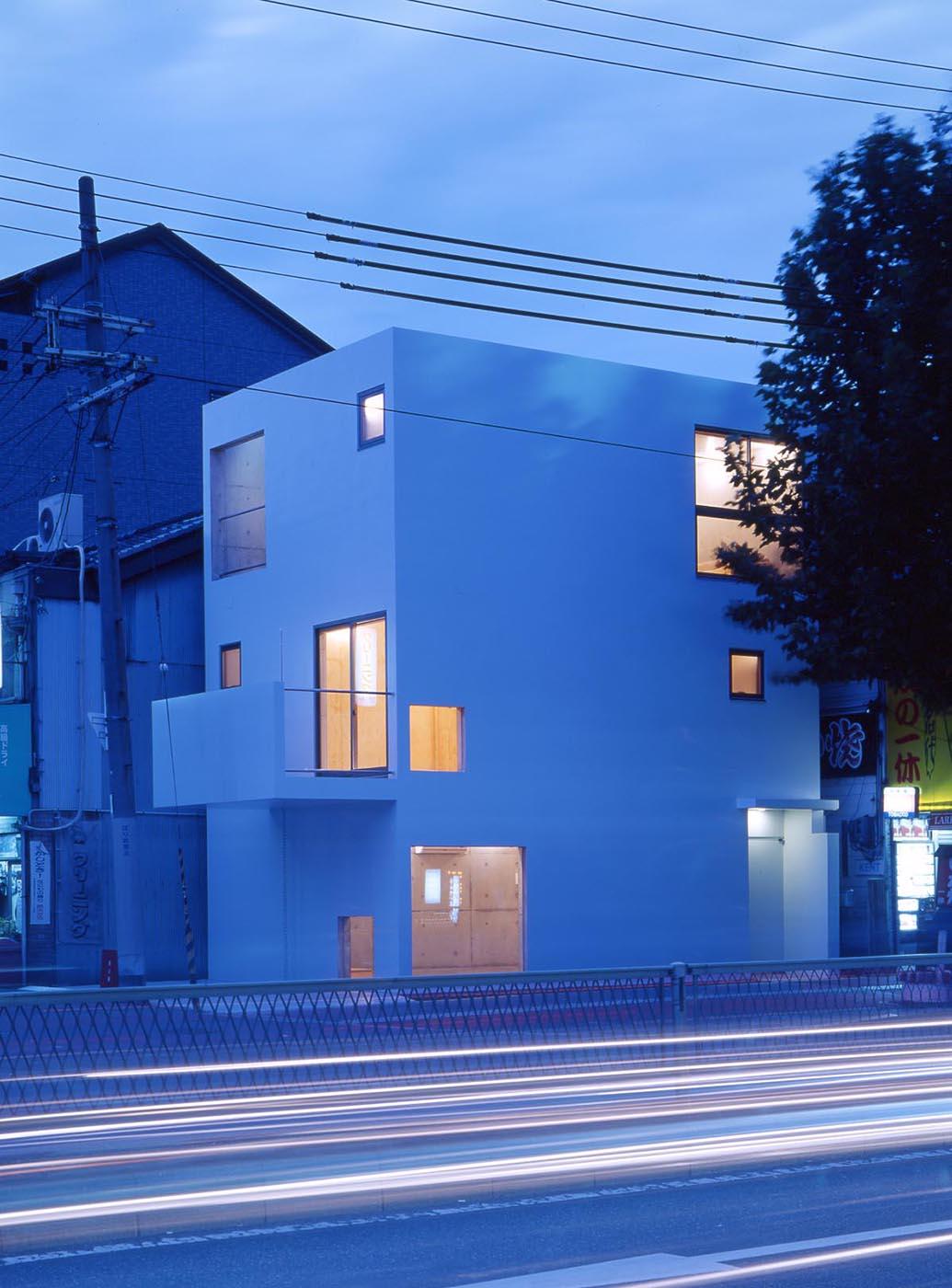 コンクリート、狭小住宅