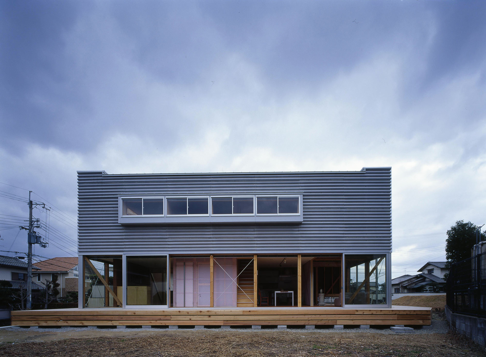 奈良の木造住宅