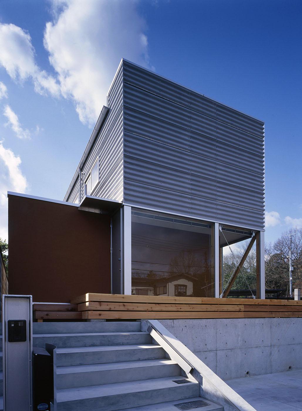 住宅、ギャラリー、木造