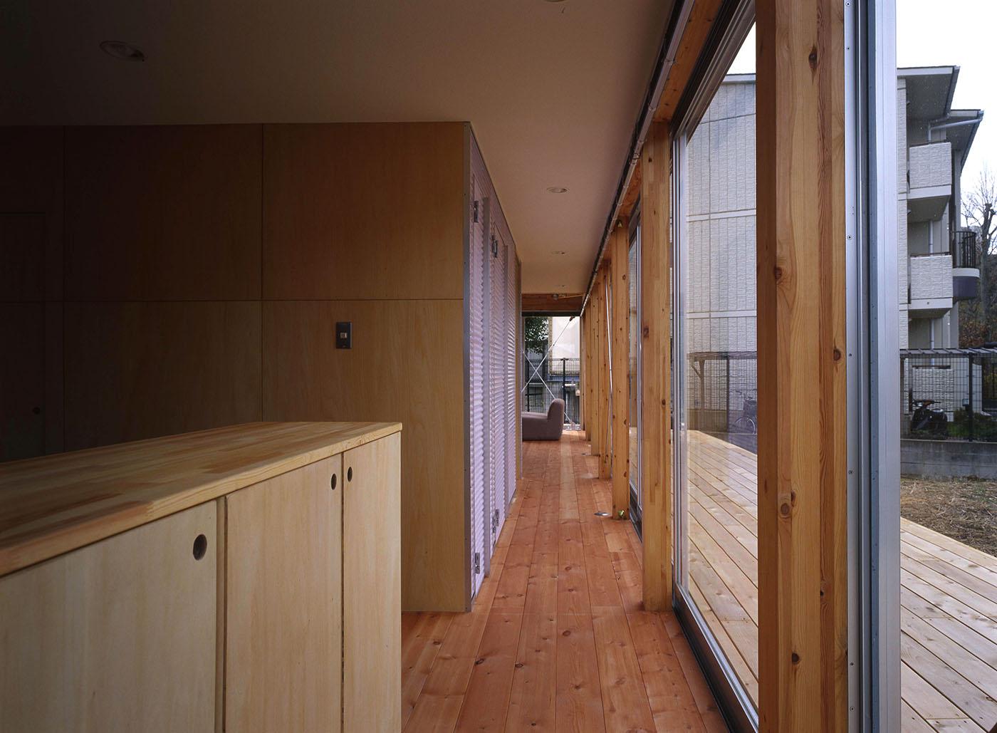 開放的な木造住宅