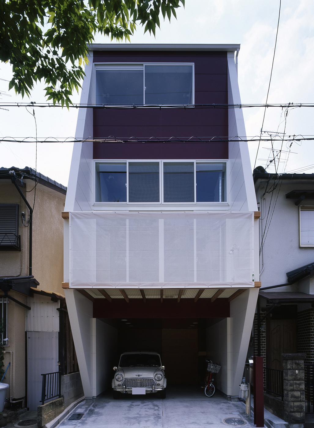 鉄骨3階狭小住宅、高槻