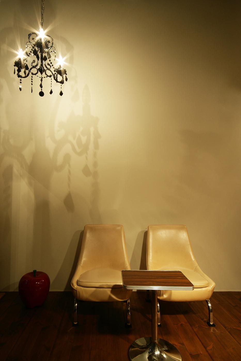 スキップフロア、アンティーク椅子