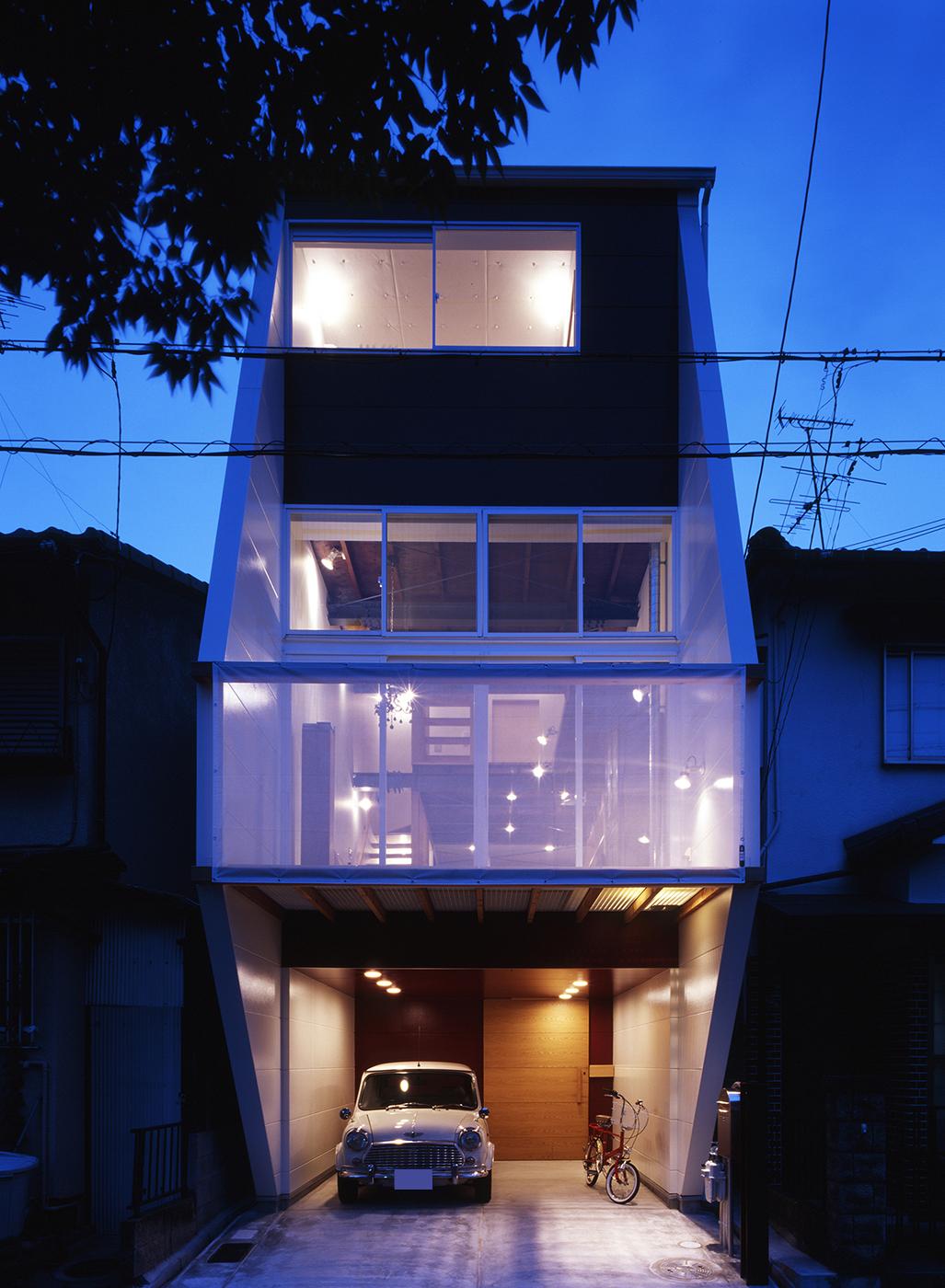 鉄骨3階狭小住宅