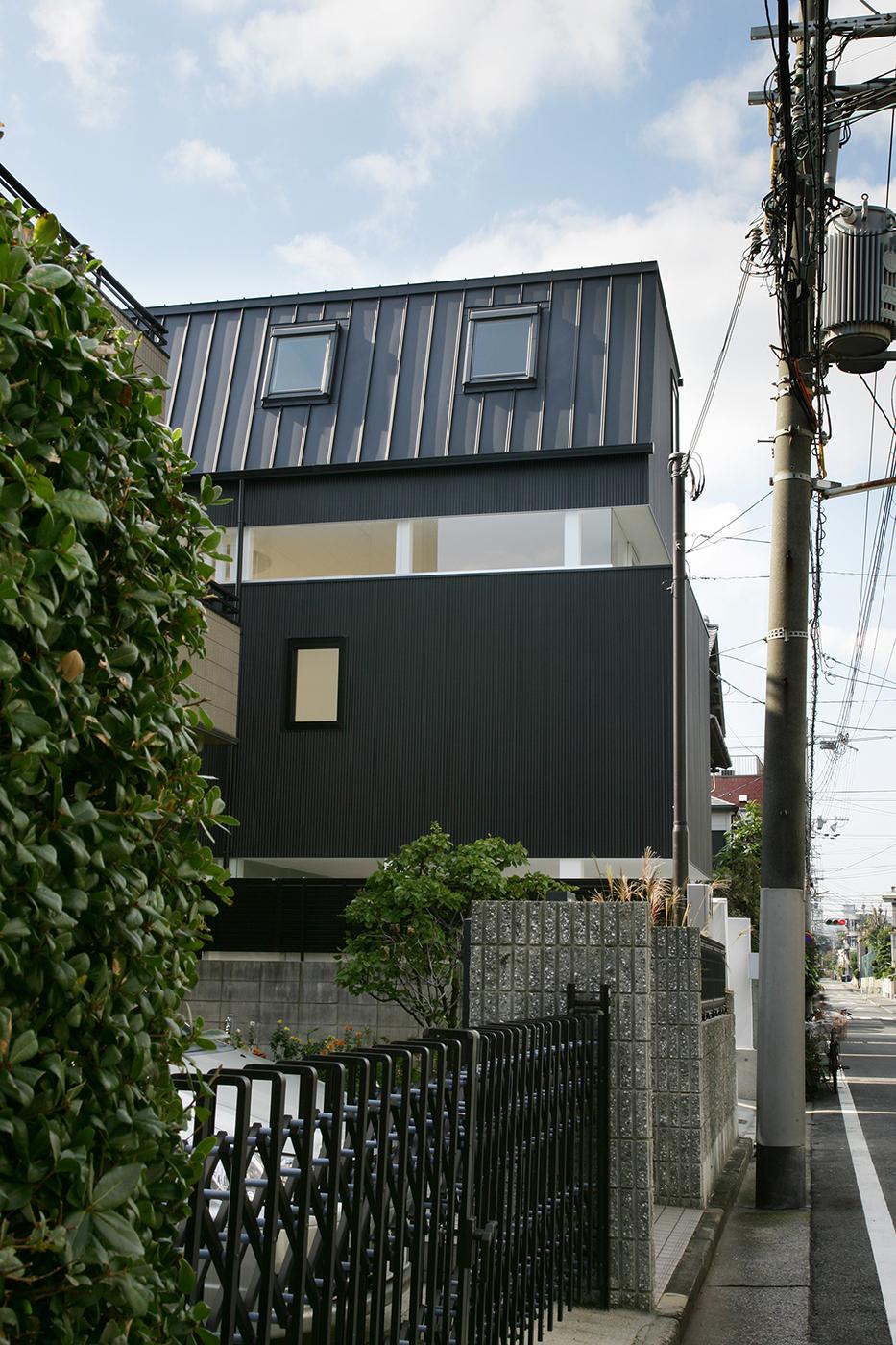 芦屋、プライバシーの高い住宅