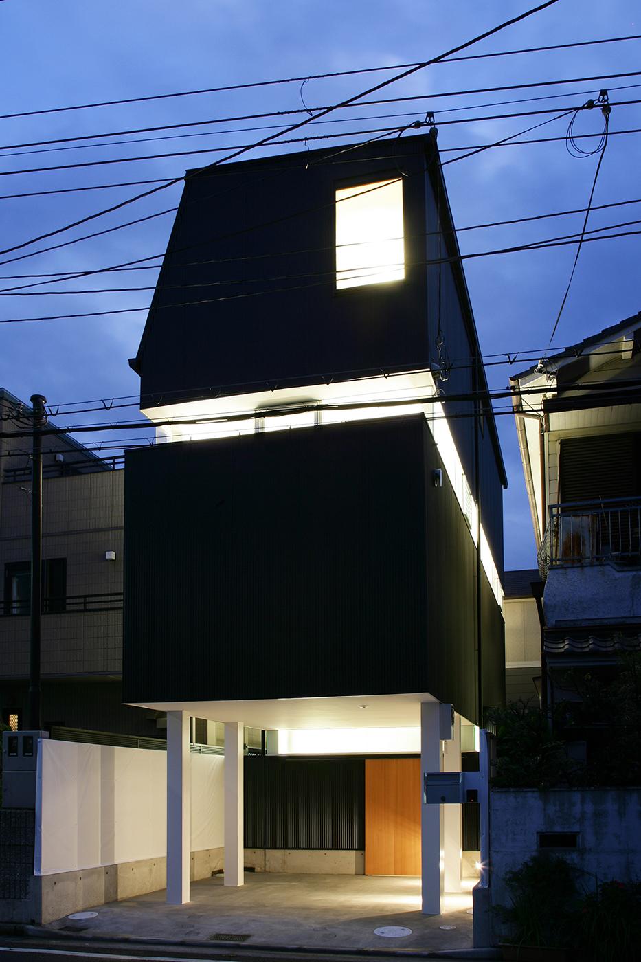 芦屋の狭小住宅