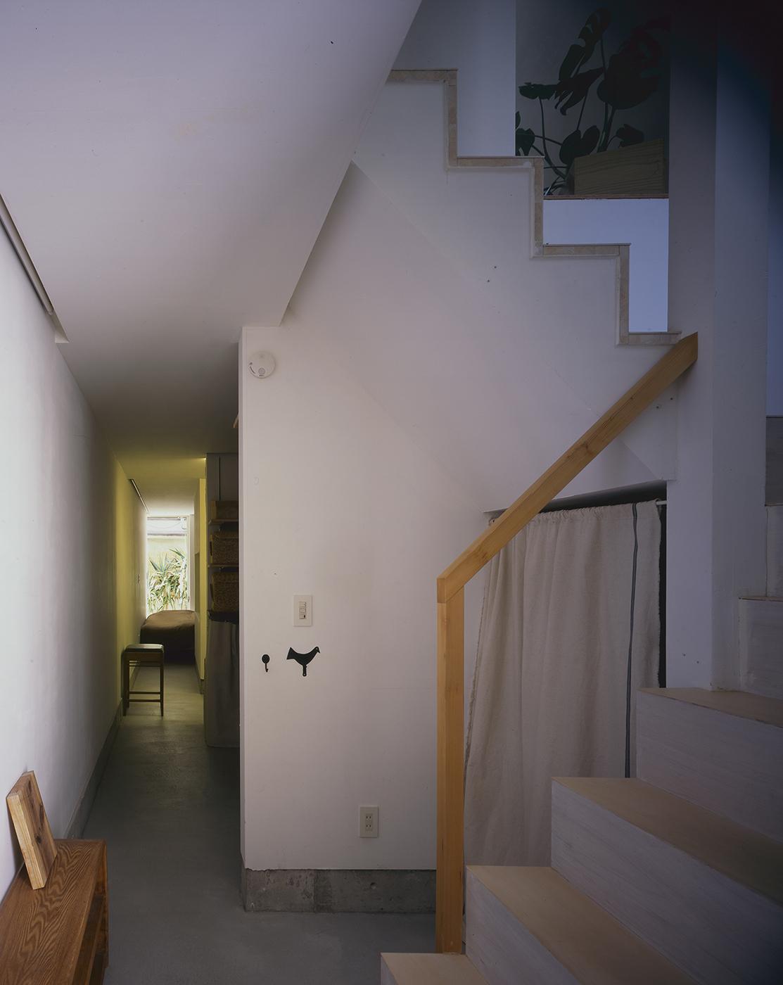 木造3階建て狭小住宅