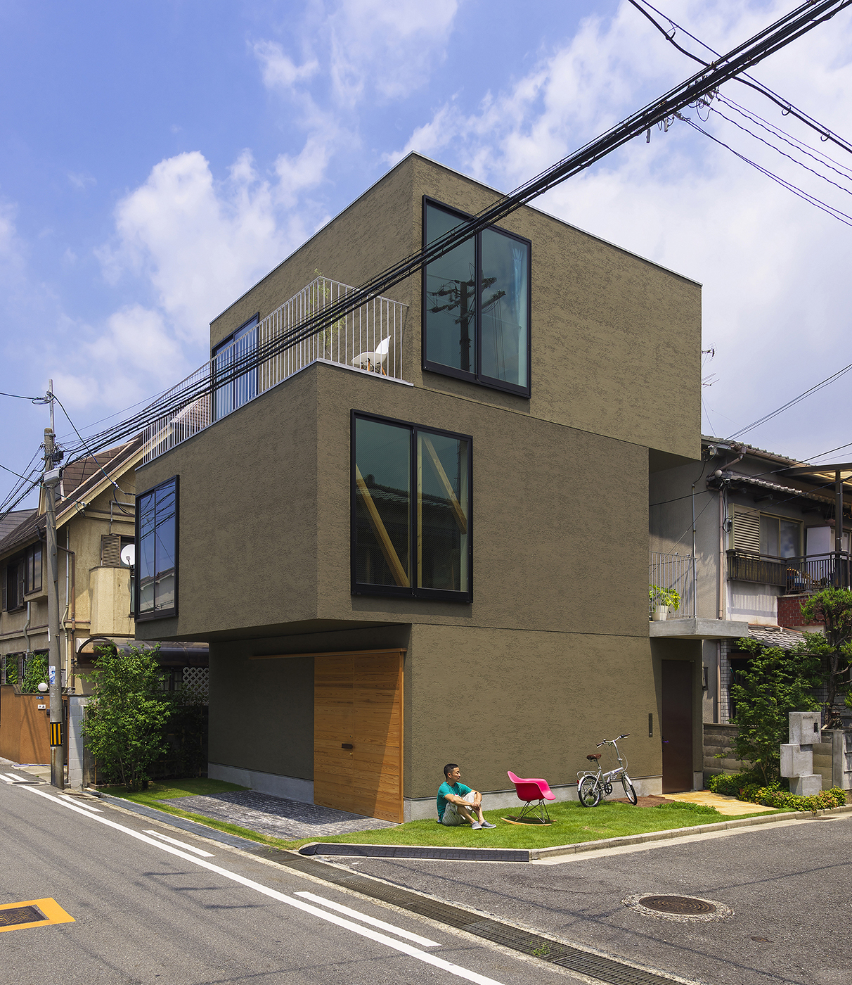 庭のある住宅