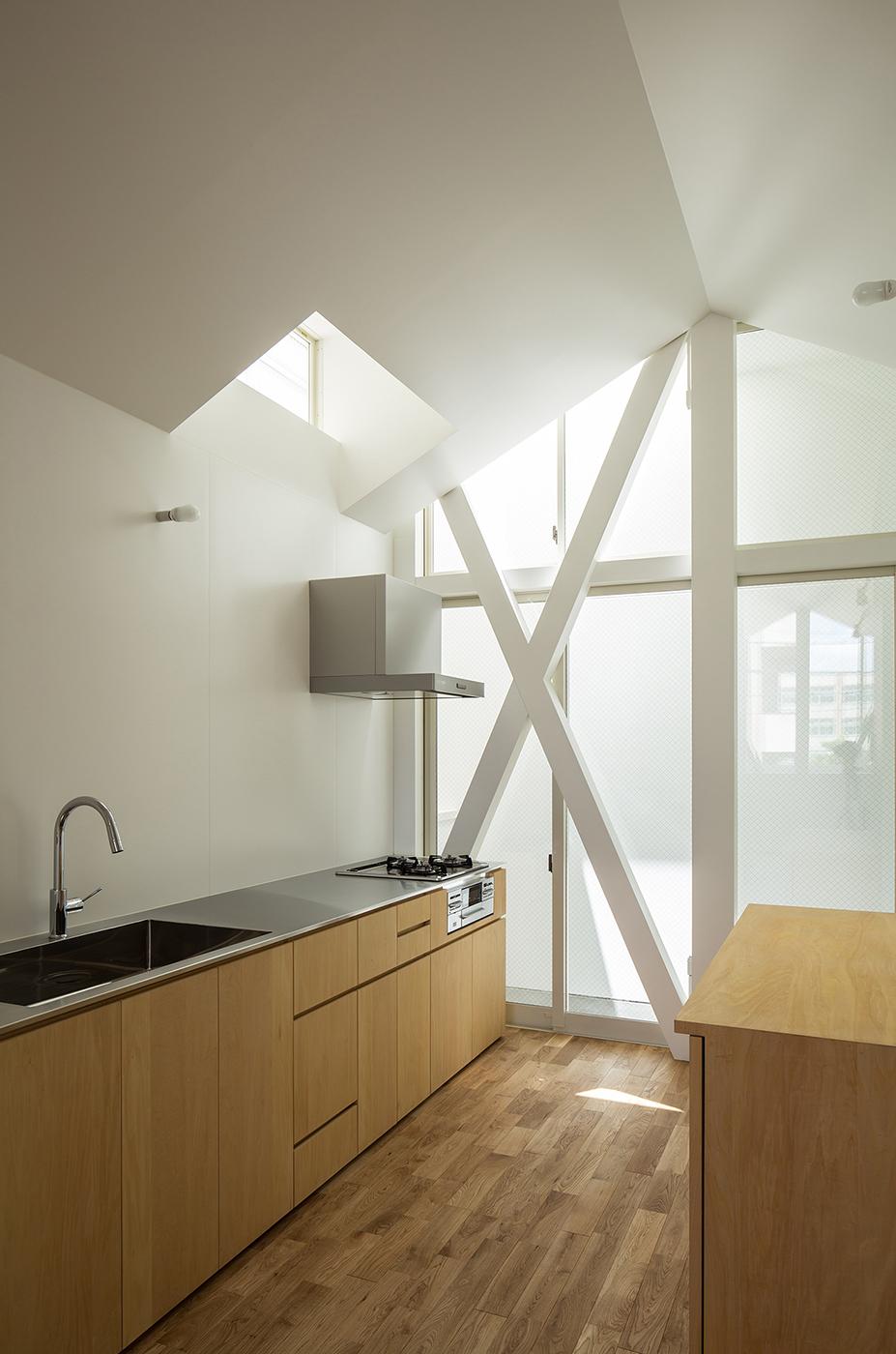 シンプルな住宅