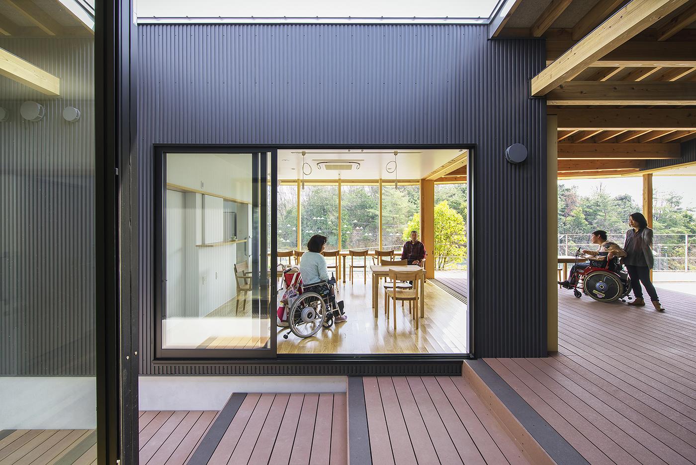 たんぽぽの家障害者福祉ホーム、有縁のすみか、六条山カフェ