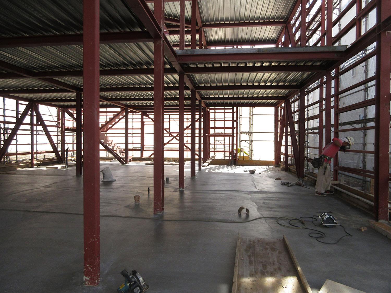 コンクリート打設|K新社屋