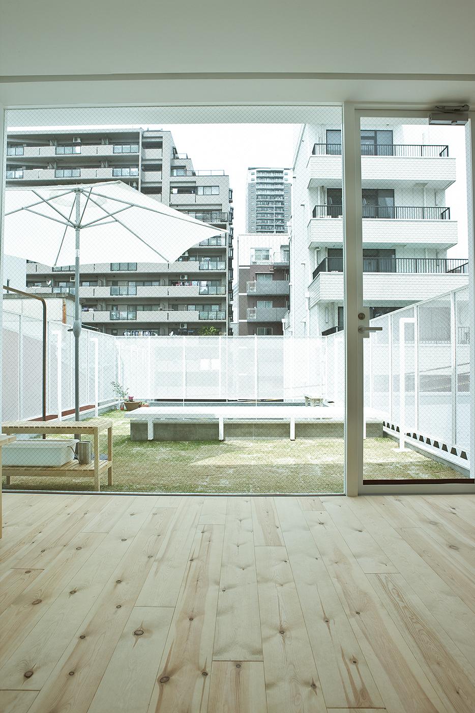 屋上緑化大阪