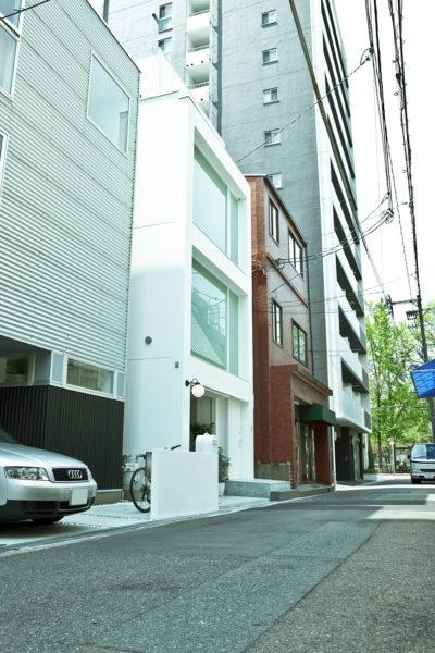 ミニマル・シンプルな住宅外観
