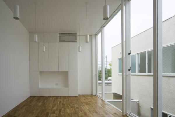 シンプルな2世帯住宅