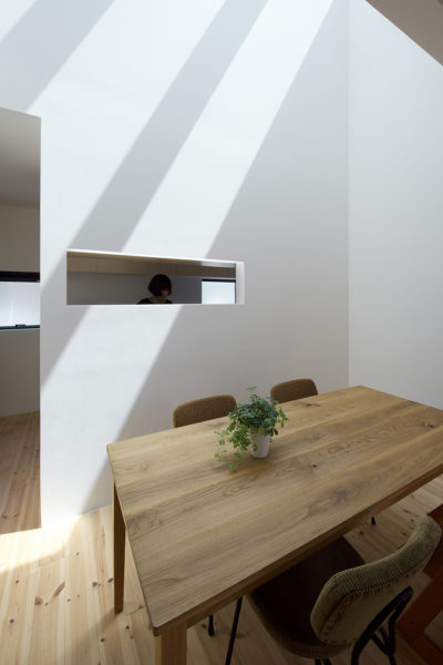 高槻、シンプルな住宅