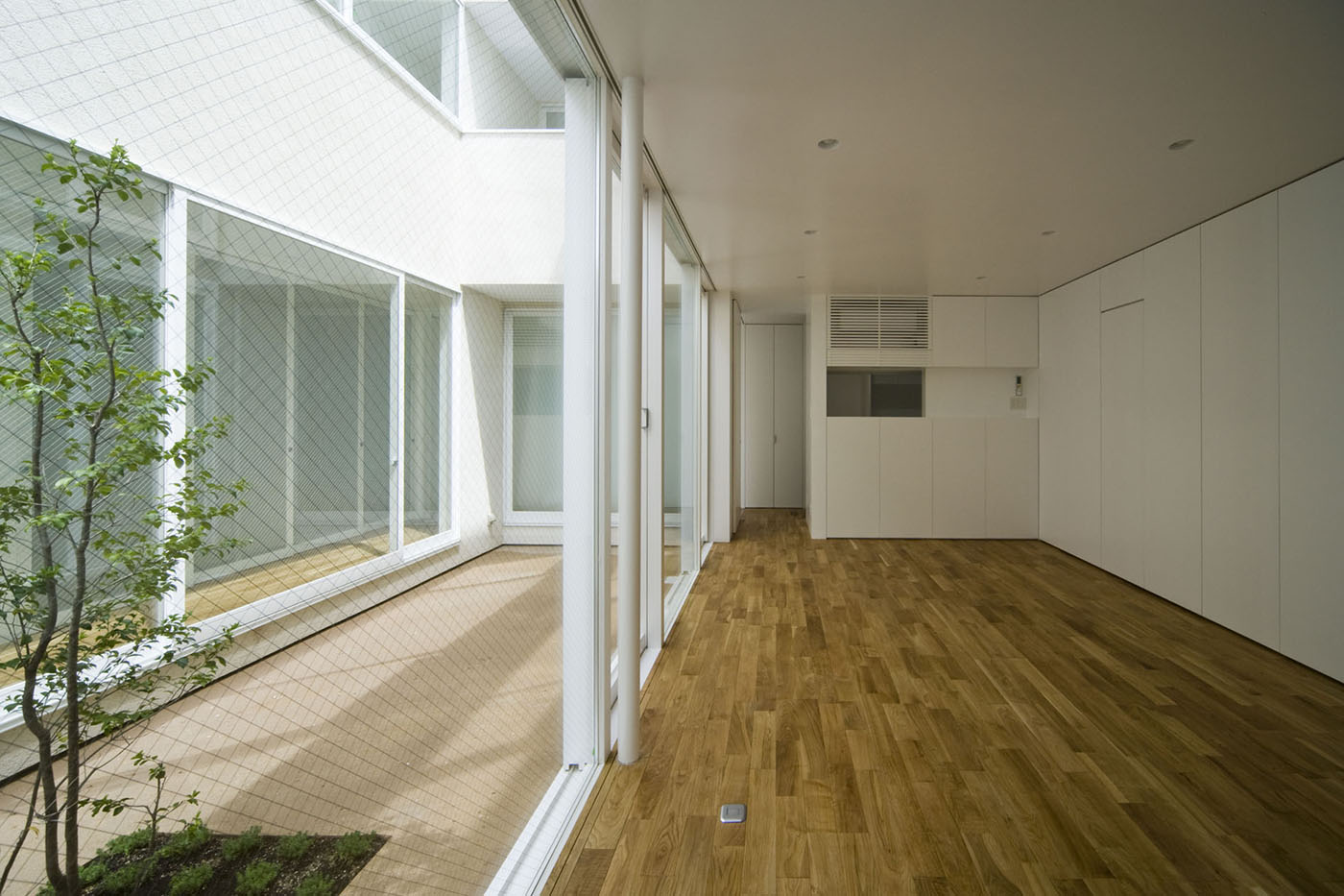 中庭住宅大阪