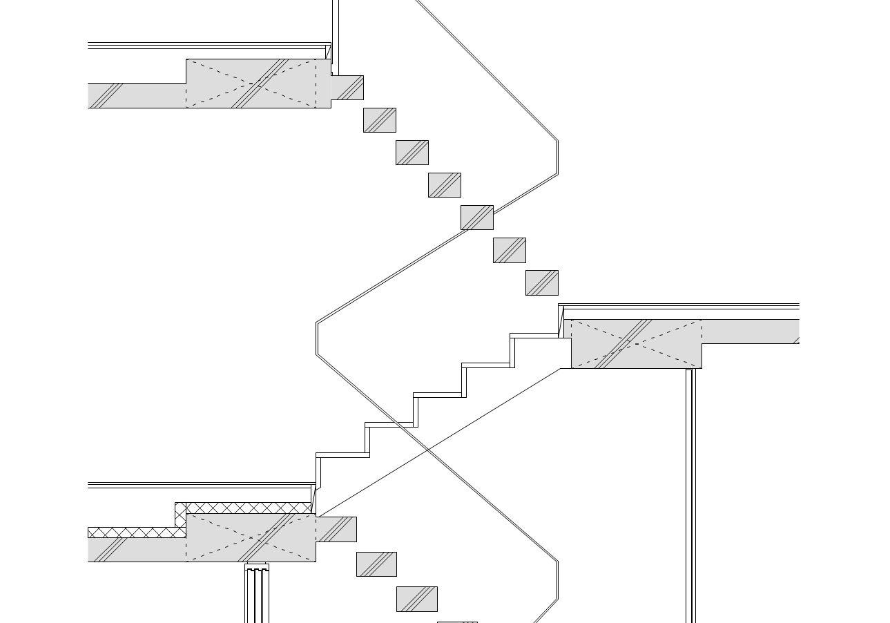 スキップフロアの住宅設計・デザイン [建築設計・監理]