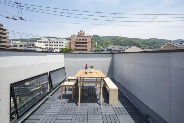 東大阪屋上テラス